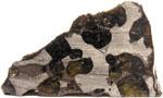 Brenham (Pallasite) 14.90g Partslice