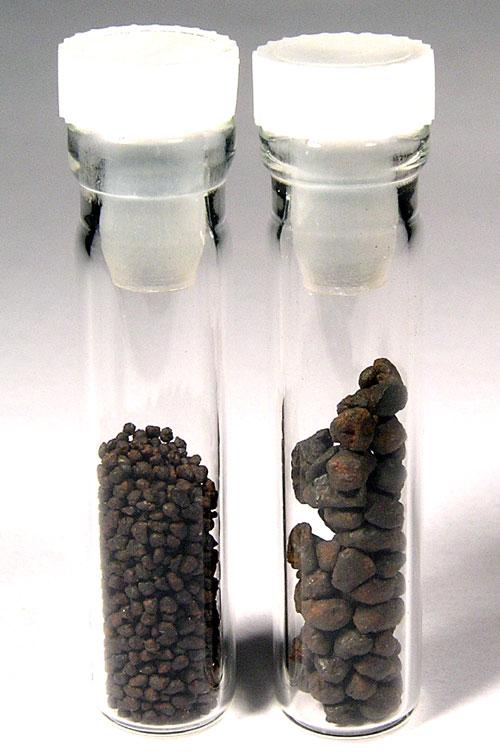 Canyon Diablo Meteorite 1.4 mm Diameter Spheroids