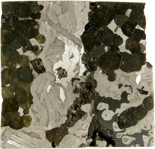 Seymchan (Pallasite) - 219g Slice.