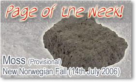 Moss Meteorite Fall