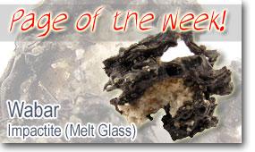 Wabar Meteorite Impactite (Melt Glass)
